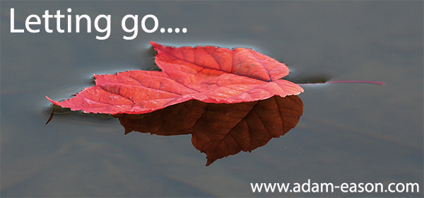 True Letting Go Using Self-Hypnosis – Like Leaves On A Pond