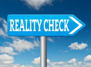 Reality check to reduce stress