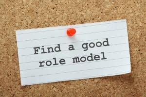 finding a good role model for reducing stress