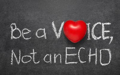 What Have Orson Wells, Pokemon and Current Trends On Social Media All Got in Common? Are You A Voice Or An Echo?