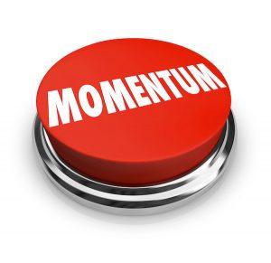 membangun momentum