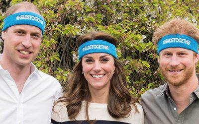 Loving The Candour Of Prince William and Prince Harry Raising Awareness of Mental Health Issues