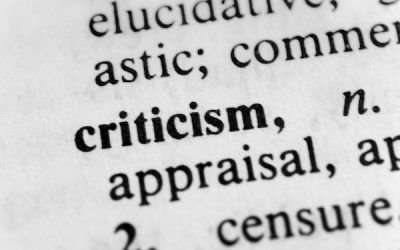 How to Effectively Deal With Criticism