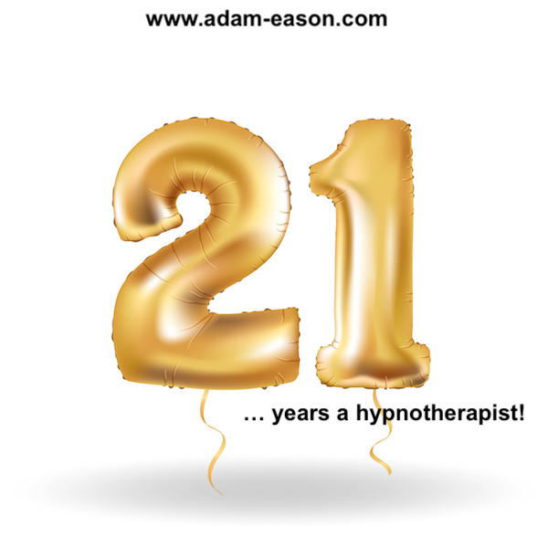Celebrating 21 Years As a Hypnotherapist!